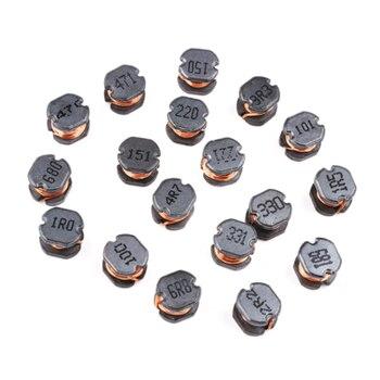 Inducteur de puissance d'enroulement CD32/43/54 CD75 smd, 10 pièces, 10UH/4.7/100/101/221/331 470