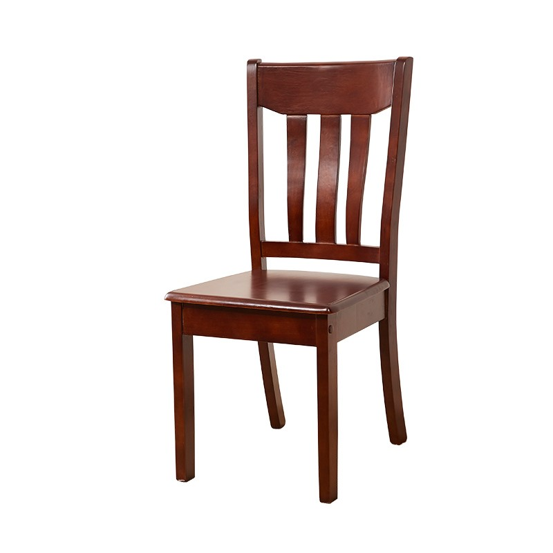 Full of solid wood dining chair, simple Chinese style, modern backseat dining room, stool, solid wood dining room