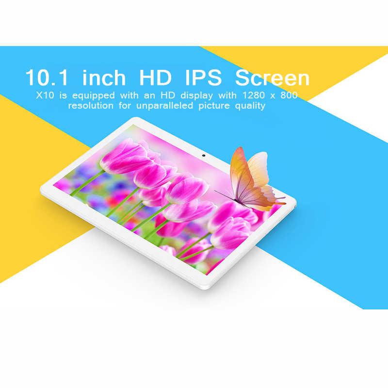 تابلت تيكلاست X10 أندرويد 10.1 بوصة تابلت 3G مكالمة هاتفية فابلت 1280*800 MTK 6580 رباعية النواة 1GB RAM 16GB ROM PC لتحديد المواقع المزدوج