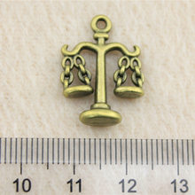 Sales Retail 1 Piece 21x17mm BalanceLaw Scales Charms Wholesale Jewelry Lots Fashion Women(China)