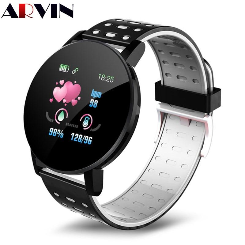 Arvin 2020 New Bluetooth Smart Watch Men Blood Pressure Smartwatch Women Watch Sport Tracker Smartband WhatsApp For Android