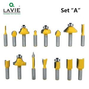 Image 3 - LAVIE jeu de mèches de toupie, en carbure de tungstène, pour le bois, 8mm, 15 pièces, MC02006