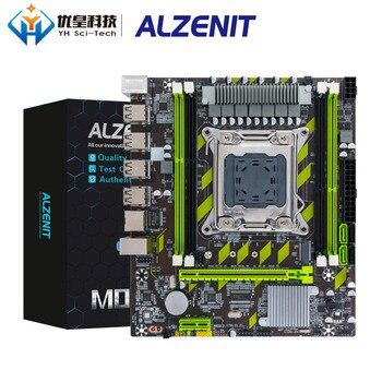 цена на ALZENIT X79G Intel X79 New Motherboard LGA 2011 Xeon E5 ECC REG DDR3 64GB M.2 NVME USB2.0 SATA3 M-ATX Server Mainboard