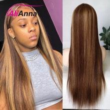 Destaque peruca do cabelo humano 13x4 peruca dianteira do laço para as mulheres cabelo humano em linha reta peruca dianteira do laço remy perucas de cabelo brasileiro 150 densidade