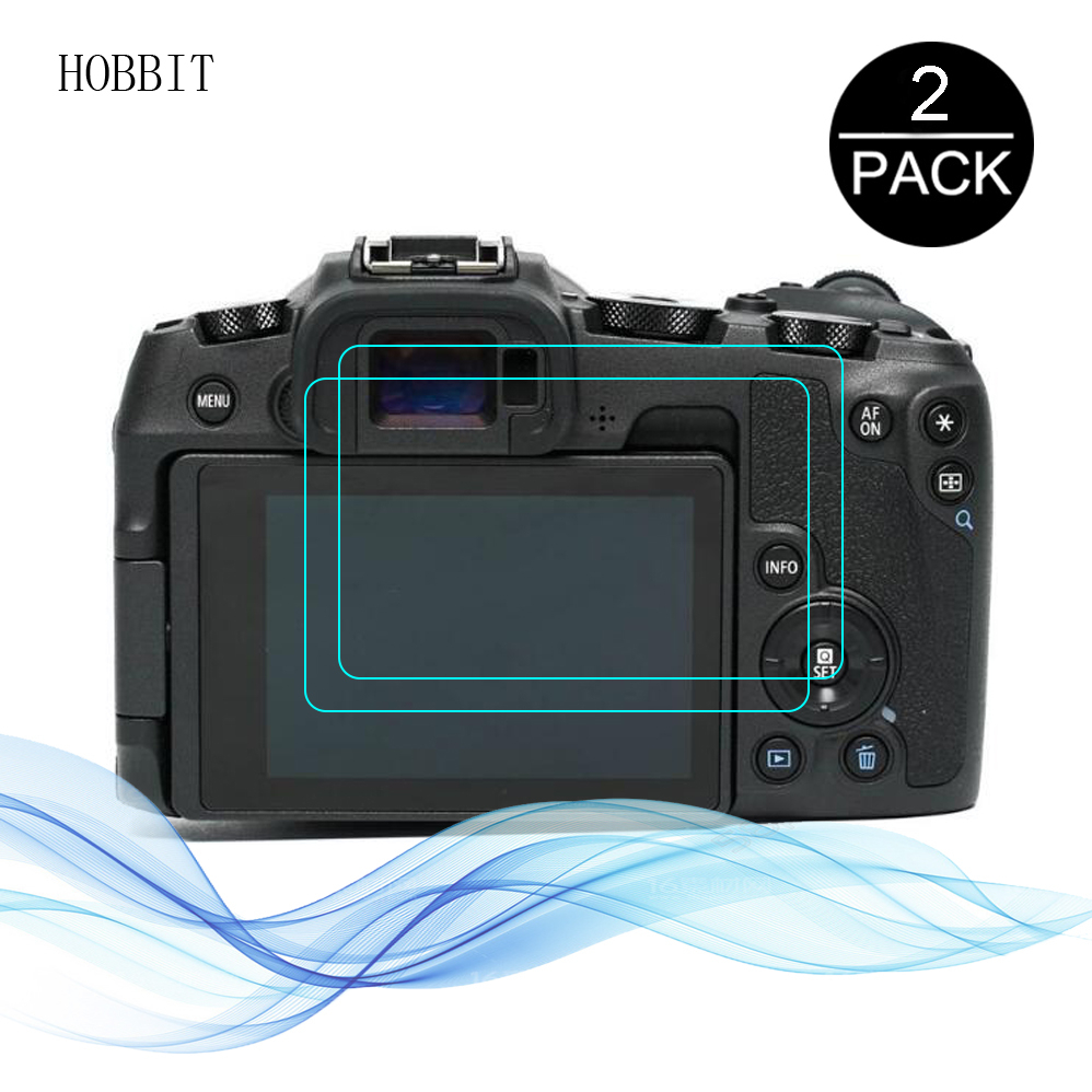 2pcs For Canon EOS RP Digital Camera LCD Anti-Scratch Water-proof Film 2.5D 9H Clear Tempered Glass Screen Protector EOS RP