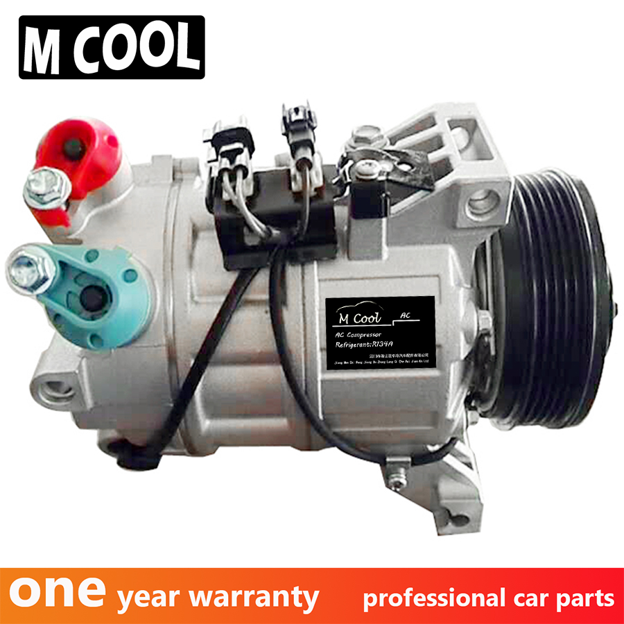 New Auto AC Compressor For Volvo S70 XC70 XC60 S80 <font><b>30780443</b></font> 31305833 36000331 36000456 36002425 image