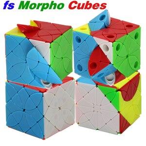 Image 1 - Magic cube puzzle f/s limCube Morpho Aureola cube fs Morphidae Marinita Helena Deidamia skew cube educational twist toys puzzles