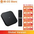 Глобальная версия Xiaomi Mi TV Box S, приставка Android TV 9,0 4K со сверхвысоким разрешением Ultra HD, 2 ГБ 8 ГБ Wi-Fi IPTV Декодер каналов кабельного телевидения ...