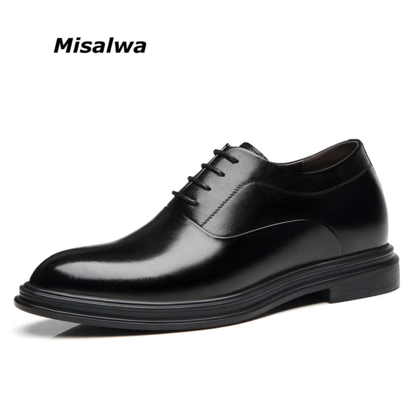 Misalwa 5/7cm Classic Mens Derby Shoes