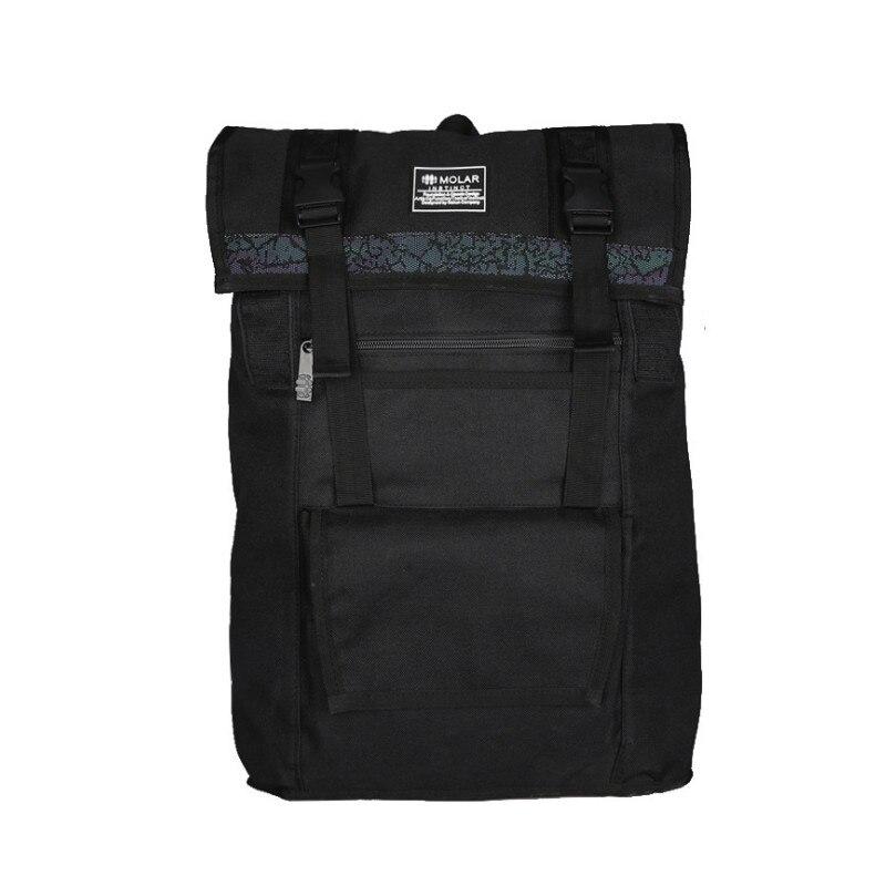 Hommes Oxford solide voyage noir sac à dos pour ordinateur portable mâle grande école sac à dos affaires collège étudiant sacs à bandoulière 1223 #