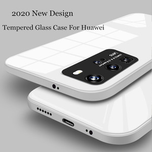 Square Tempered Glass Phone Ca