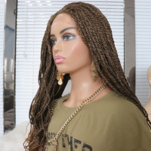 NYFRETYA  Braided Free Part Synthetic 27 Hair Wig  High Temperature Fiber New Style Fashion  For Women