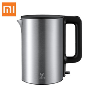 Image 1 - xiaomi VIOMI YM K1506 1.5L 1800W Electric Kettle Thermostat Anti Scalding House 304 Stainless Steel Water Kettle