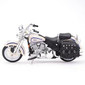 Image 2 - Maisto 1:18 1997 Flsts ヘリテイジスプリンガーダイキャスト合金オートバイモデルのおもちゃ