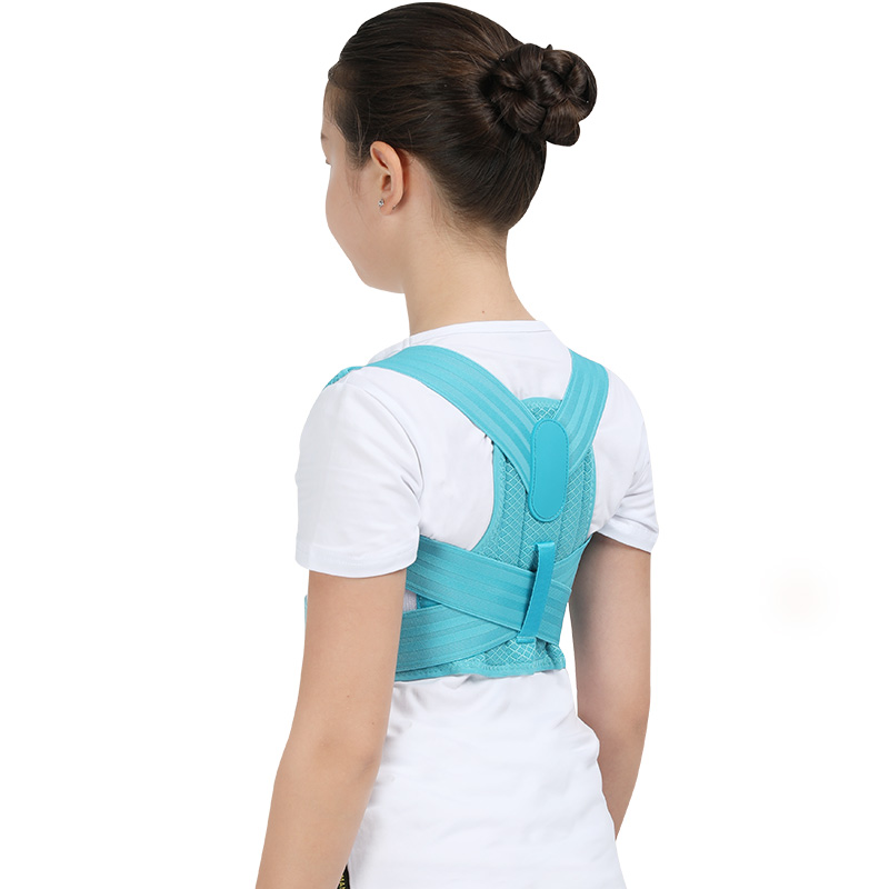 Adjustable Children Posture Corrector Belt with Detachable Shoulder Pad to Develop Good Walking and Sitting Posture 12
