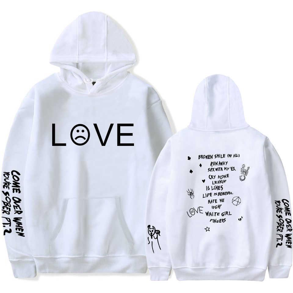 Dropship Lil Peep Hoodies 지옥 소년 Lil.peep 남성 여성 후드 풀오버 남성 여성 Sudaderas Cry Baby Hood Hoddie Sweatshirts
