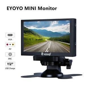 """Image 1 - Eyoyo 5 """"モニターポータブルvgaモニターcctvスクリーンlcd 800 × 480 ipsモニターbnc av/vgaディスプレイled車のtftモニターhdmi対応"""