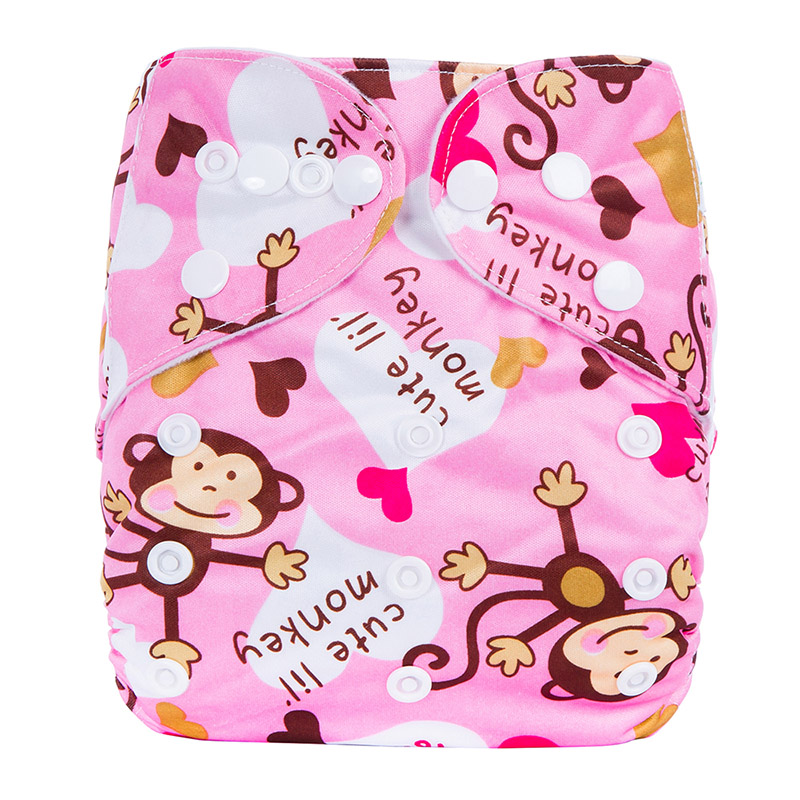 Wholesale Prefold Cloth Diapers Washable Organic Bamboo Nature Good Baby Diaper L16