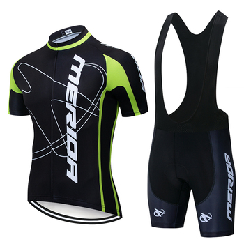 2020 MERIDAING Cycling Jersey Set Summer Cycling Wear Mountain Bike Clothing Bike Clothing MTBbike Cycling Clothing Cycling Suit