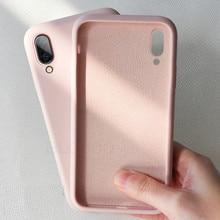 Soft Liquid Silicone Phone Case For Xiaomi