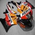 Набор обтекателей мотоцикла для HONDA CBR600F3 1997 1998 CBR600 F3 97 98 CBR 600 F3 ABS оранжевый repsol обтекатель комплект + подарки-Nn