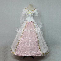Anime Sleeping Beauty Cosplay Costume Princess Aurora Wedding Custom Made Dress Women Halloween Costumes