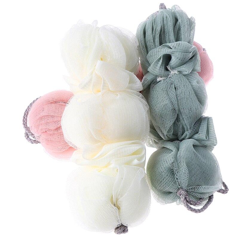 Multicolour Bath Ball Bath Tubs Ball For Body Loofah Massage Cleaning Tool Body Exfoliating Shower Ball Bath Towel Scrubber
