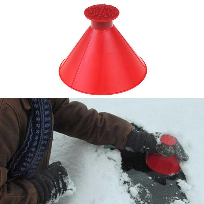 Sneeuw Schop Automotive Levert Winter Sneeuw Bedekt Plastic Auto Sneeuw Schraper Trechter Schrapen Rond Kegel Sneeuw Blower