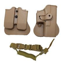 Тактическая кобура для пистолета для Glock 17 19 22 23, поясная кобура для страйкбола, чехол для пистолета, журнал, сумка для пистолета, слинг для пи...