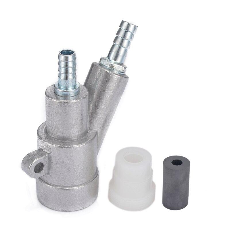 New Stainless Steel Air Sandblaster Gun Spray Gun Sandblaster Spray Tool Kit Set 8mm Boron Carbide Nozzle Power Tool Accessories