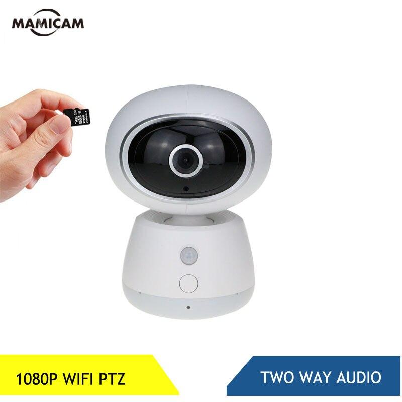Caméra IP WIFI sans fil MINI taille Surveillance intérieure sécurité à domicile panoramique/inclinaison PTZ IR Vision nocturne P2P Audio bidirectionnel 1080P 2MP