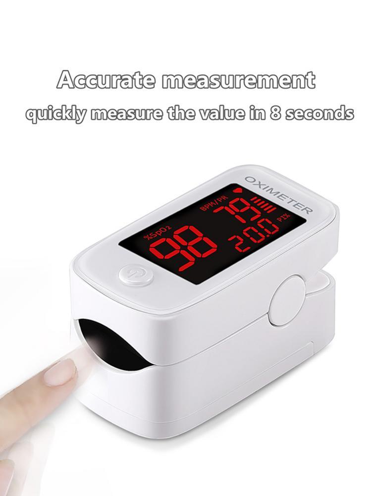 Finger Clip Oximeter LED Pulse Oximeter Pulse Oximeter Oximetro Home Family Pulse Oxymeter Pulsioximetro Finger Pulse Oximeter