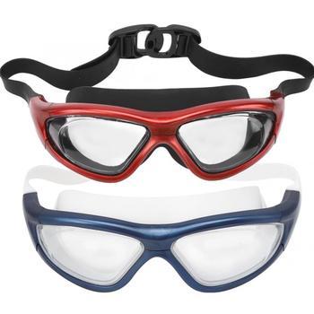 Dorośli gogle pływackie Anti fog pływanie Surfing okulary szybownictwo żaglówka Drifting sport gogle pływackie okulary pływackie z 2 zatyczkami do uszu tanie i dobre opinie FTVOGUE MULTI Z tworzywa sztucznego Silikonowe Surfing Glasses