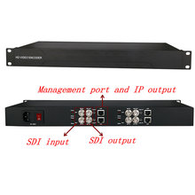 SDI HD encoder H265 / 264 network live streaming encoder SDI to IP, IPTV front-end equipment ixtk90n25l2 to 264