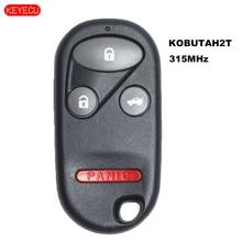 KEYECU Remote Control Transmitter Key for Honda Accord 1998  2002 FCC: KOBUTAH2T