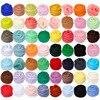 New Arrival 86 colors 5g/10g/20g/50g/100g Felting Wool Fibre  Felt Fabric Felt Craft  Toys Felting Wool Handmade Felting Craft