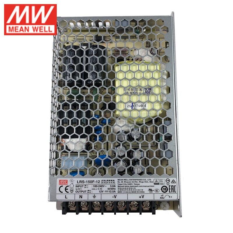 Mean Well RS-150-12 AC-DC Fuente de alimentaci/ón de salida /única cerrada