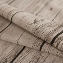 Imitation wood grain imitation bark cotton and linen blend fabric handmade DIY fabric shooting background tablecloth accessories