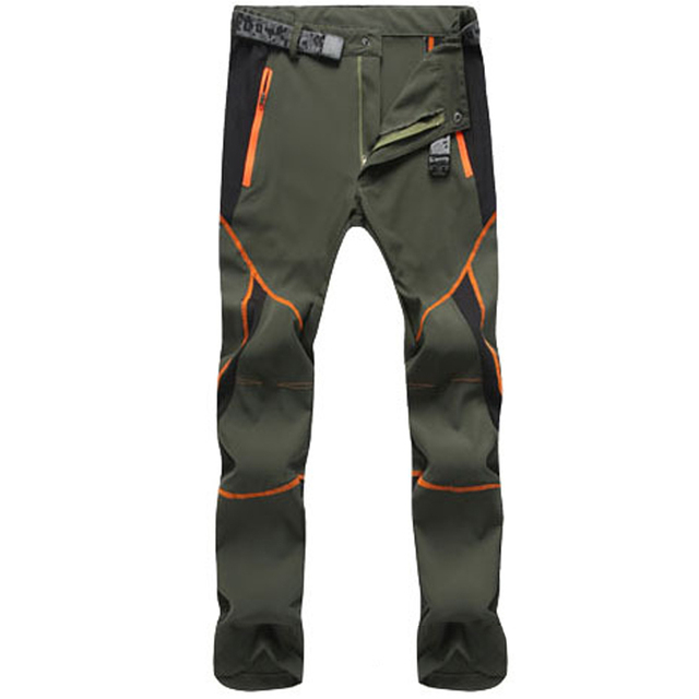 Summer Hiking Pants for Men Quick Drying Outdoor Workwear Men Clothing Color Stitching Climbing Pantalon Windproof Men's Pants 4