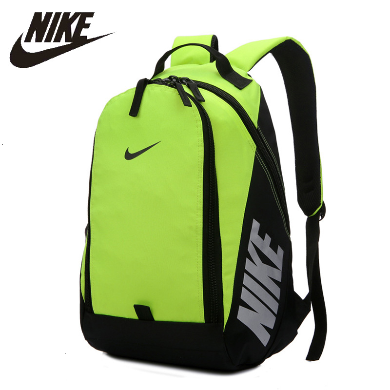 Nike Both Shoulders Package Outdoor Sport Backpack Male Woman Nike Leisure Time A Bag College Student Travel Computer Package