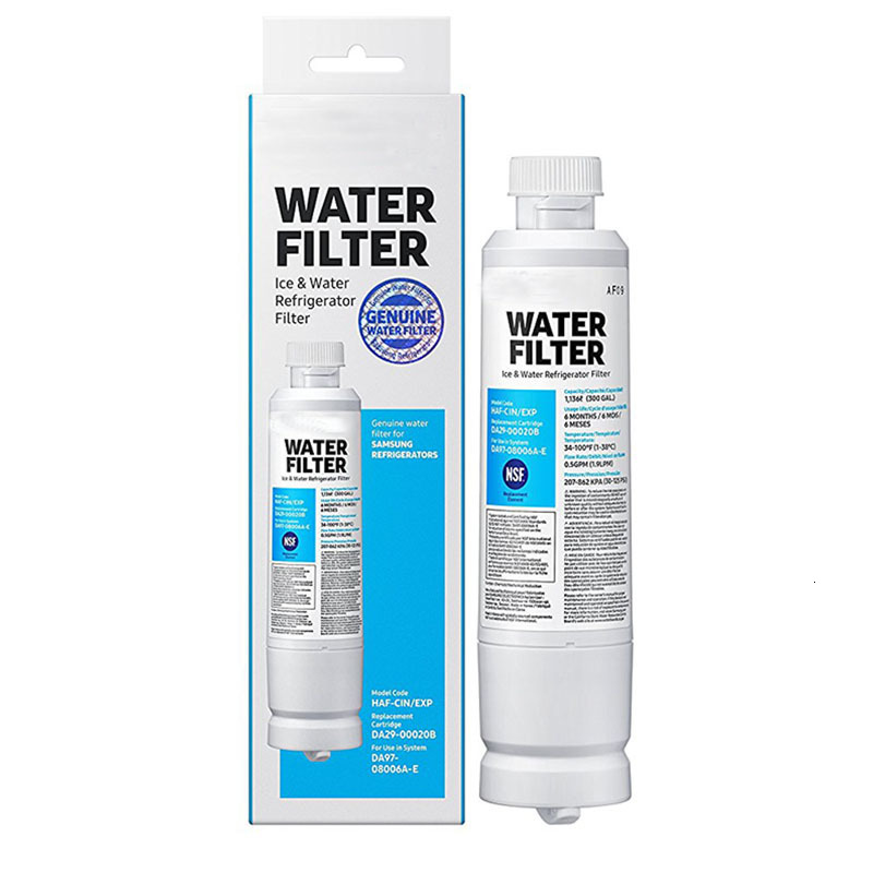 New high quality household water purification filter box replaced with real Samsung water filter DA29 00020B 1 pieces|Water Filters| |  - title=