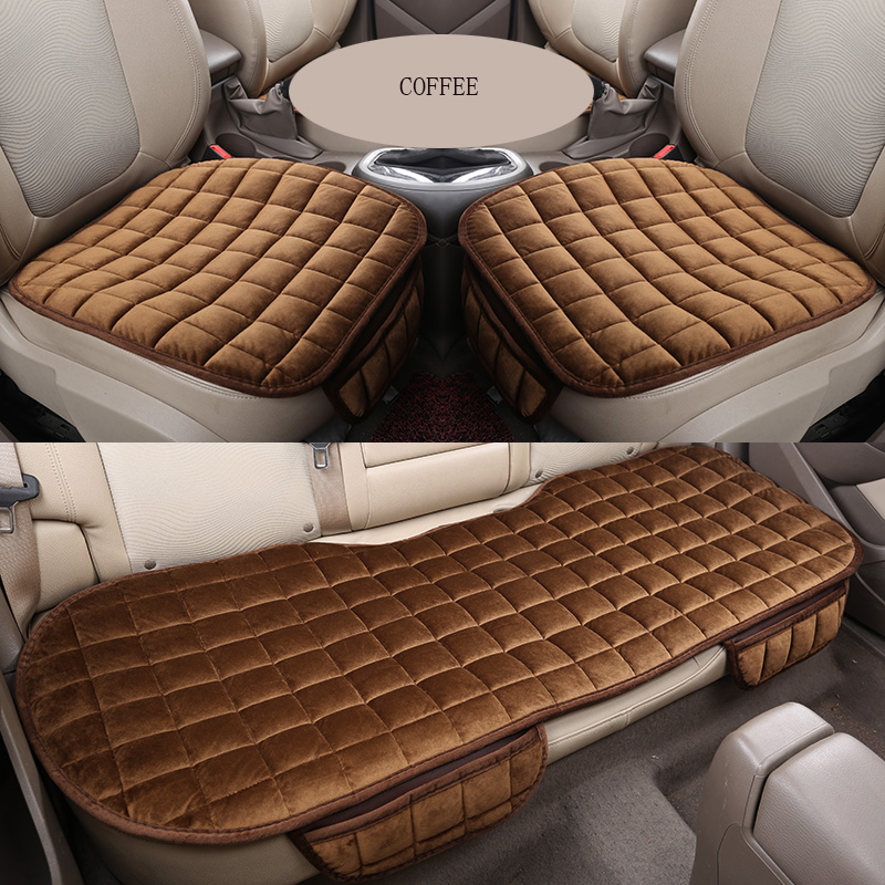 car <font><b>seat</b></font> <font><b>covers</b></font> Velvet <font><b>Seat</b></font> Mat Fits for <font><b>mazda</b></font> 3 bk bl 2010 cx 7 cx-5 2013 6 2014 323 familia <font><b>cx9</b></font> accessories <font><b>seat</b></font> <font><b>covers</b></font> image