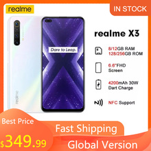 Realme 128GB GSM/LTE/WCDMA NFC Supercharge Octa Core Fingerprint Recognition 64MP New