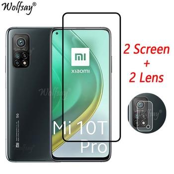 Full Cover Tempered Glass For Xiaomi Mi 10T Pro 5G Screen Protector For Xiaomi Mi 10T Pro Camera Glass For Mi 10T Pro 5G Glass