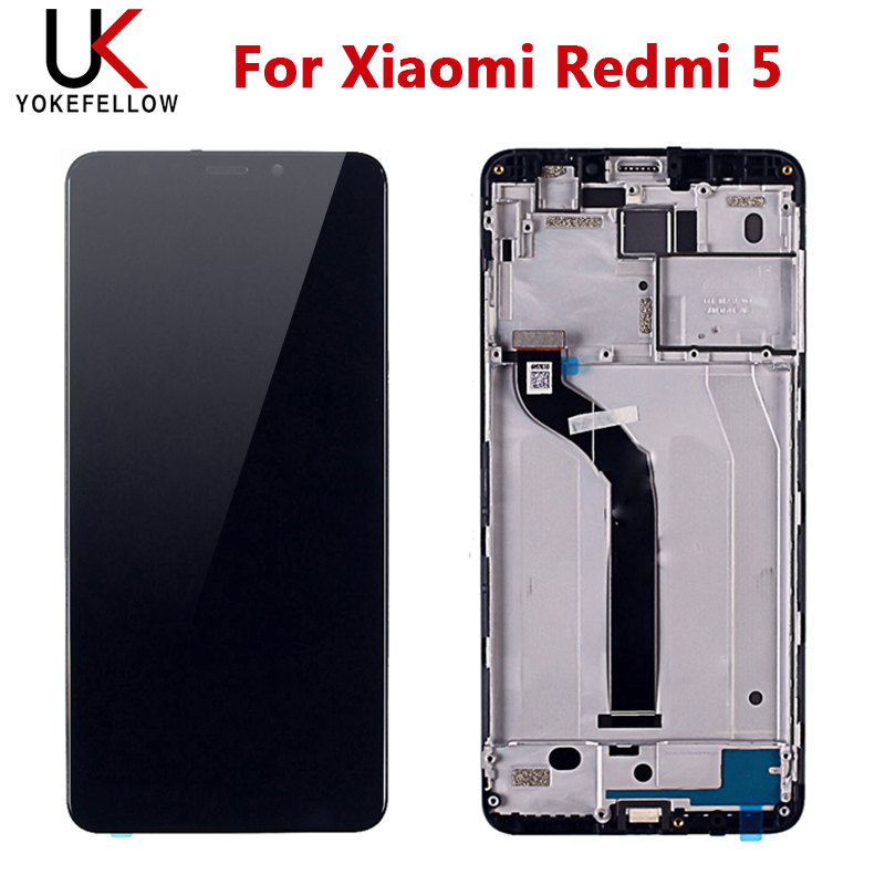 Tested Touch Screen For Xiaomi Redmi 5 LCD Display With Touch Screen Assembly