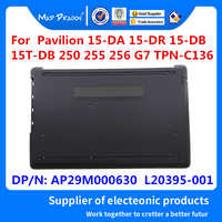 Novo caso inferior base original conjunto capa inferior cinza preta para hp 15-da 15-db 15-dr 250 255 256 g7 ap29m000630 L20395-001