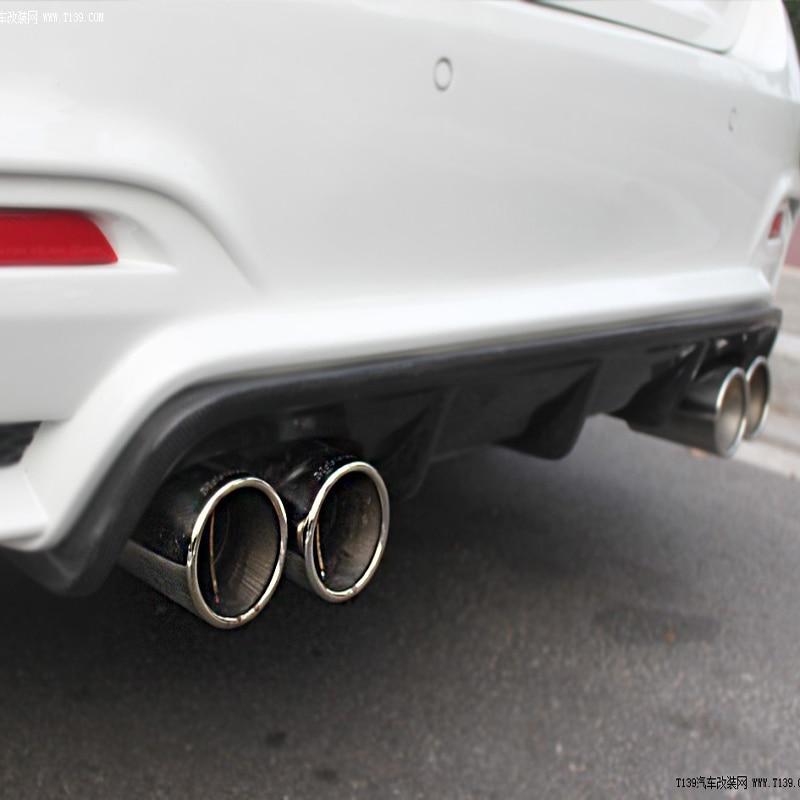 BMW F82 M4 F80 M3 üçün M3 M4 Performans tərzi Karbon Fiber Arka Bamper Diffuser 2014-2015