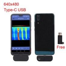 WG201 приложение для Android тепловизор камера s для смартфона инфракрасная тепловизор камера с usb-адаптером type-C Тепловые устройства