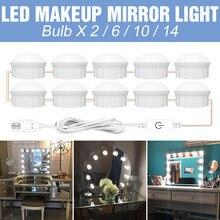12v туалетный столик для макияжа светильник светодиодный лампы