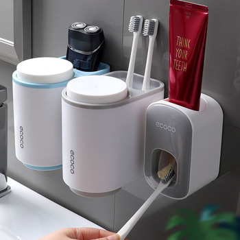 Wall Mounted Toothpaste Holder 4